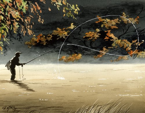 Art Fishing Fly (