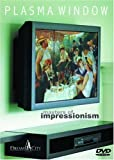 Plasma Window - Masters of Impressionism - Art DVD (Cezanne, Degas, Manet, Monet, Renoir, Van Gogh and more.)