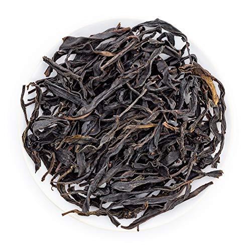 (Oriarm 100g / 3.53oz Wild Purple Buds Sheng Puerh Tea - Yunnan Raw Pu Erh Green Tea Loose Leaf - Naturally High Mountain Grown )