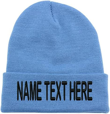 Digital Camera Custom Personalized Embroidery Embroidered Beanie