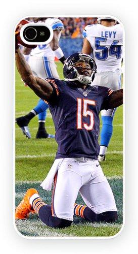Brandon Marshall Chicago Bears Sports iPhone, iPhone 4 4S, Etui de téléphone mobile - encre brillant impression