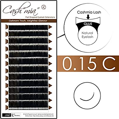 78692339458 Amazon.com : [0.15 C] Cashmere Flat Shaped X-wrap Individual Eyelash  Extension Semi Permanent in 8-14mm & Mixed Length Tray (0.15 C 15mm) :  Beauty