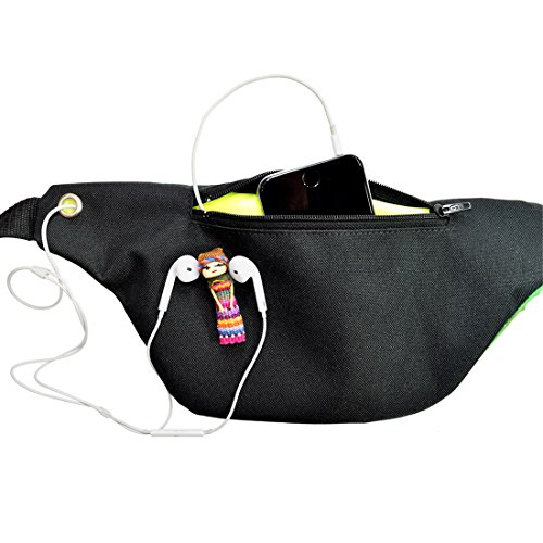 Galaxy Fanny Pack, Space Party Boho Chic Handmade with Hidden Pocket (The Fanny Frontier) by Santa Playa (Image #2)