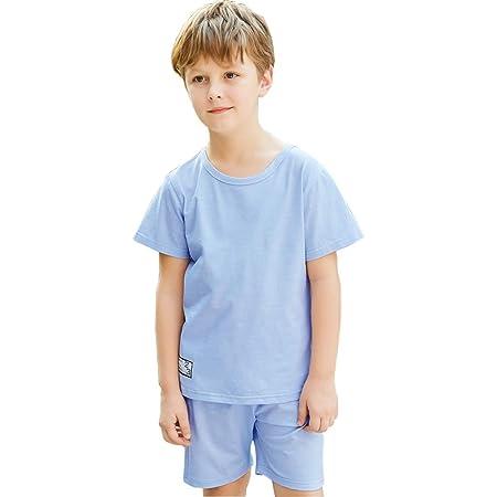 Pijamas Niños Pantalones Cortos para Niños Algodón Verano Ropa De ...