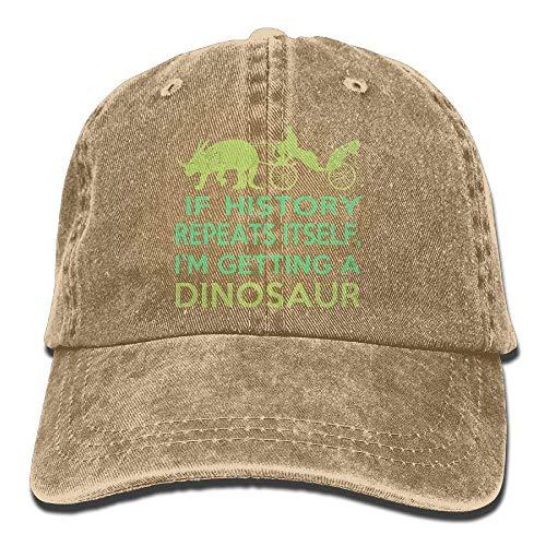Dinosaur Women A Hat I'm Men Hats for Cowgirl Denim Cowboy Cap Sport DEFFWB Getting Skull w6SICqC