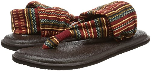 Burgundy Prints Bayridge 2 Blanket Sling Women's Sanuk Yoga CIxq8wXqf