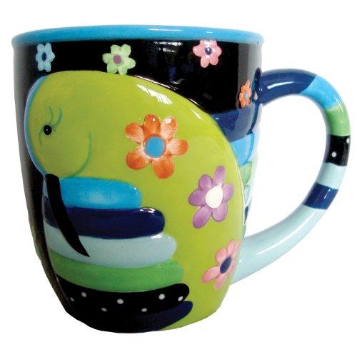 Westland Giftware 12-Ounce Cozy Hummingbird Ceramic Mug, 4-Inch by Westland Giftware