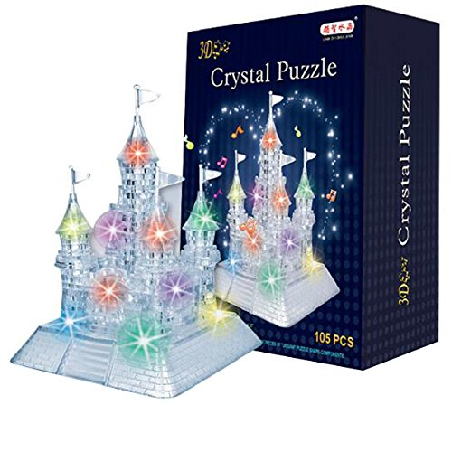 compare price to 3d crystal puzzle light up. Black Bedroom Furniture Sets. Home Design Ideas