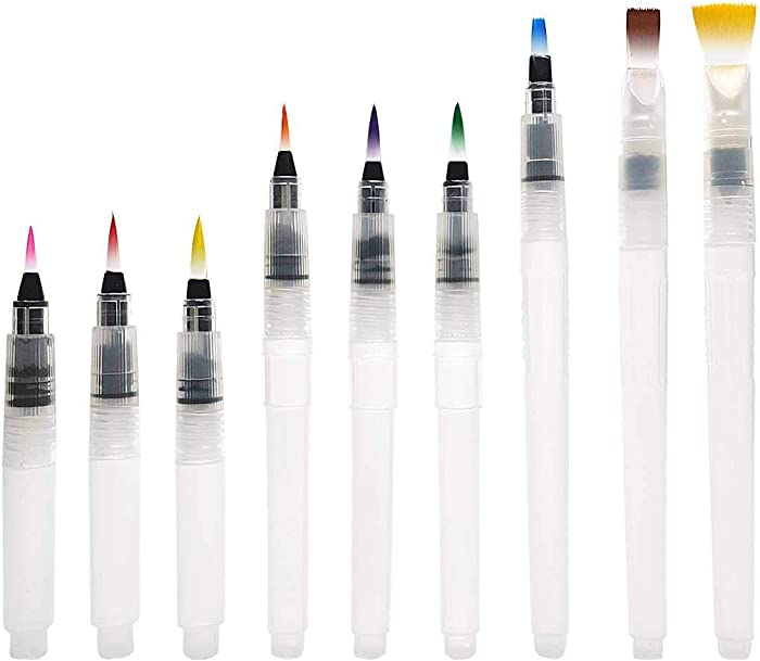 The Best Watercolor Blender Pen And Refill