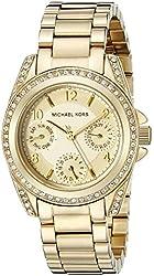 Michael Kors Women's Blair Gold-Tone Watch MK5639