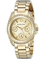 Michael Kors Womens Blair Gold-Tone Watch MK5639