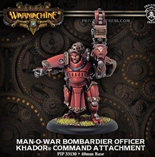 Man-O-War Bombardier Officer Miniature Game Privateer Press PIP33130 Khador