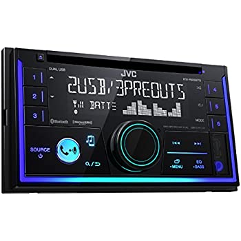 Amazon.com: JVC KW-R935BTS Double DIN Bluetooth In-Dash Car Stereo