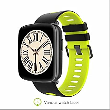 Fitness Smartwach Smartwatch para Apple Samsung HTC iPhone, GPS deporte Fitness pulsómetro reloj inteligente,