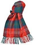 Lambswool Scottish Clan Scarf Chisholm Modern Tartan