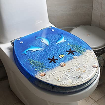 Amazon Com Topseh Resin Toilet Cover General Seat Cover The Old