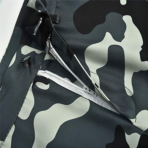 Bonne Camouflage Chic Femme SANFASHION Pantalons Jogging Militaire Camouflage Haut lphant Taille Mode Casual Pants Imprim Militaire Florale Sport Qualit wRZUqSw