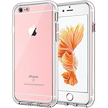 fe8b3d88838 JETech Funda para iPhone 6 Plus iPhone 6s Plus, Carcasa Bumper,  Shock-Absorción, Anti-Arañazos, HD Clara
