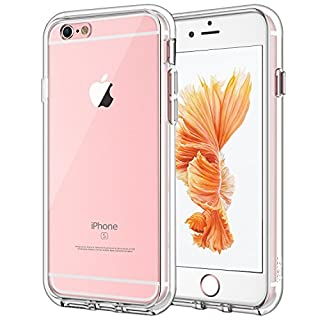 JETech Case for Apple iPhone 6 Plus and iPhone 6s Plus 5.5-Inch, Shock-Absorption Bumper Cover, Anti-Scratch Clear Back, HD Clear