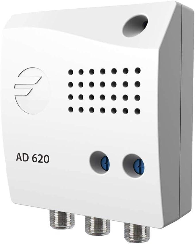 Amplificador de Interior para UHF con 2 Salidas y 22dB de ...