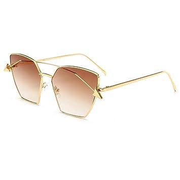 Yuanz Gafas de Sol Mujer Hombre Gradiente Cuadrados Gafas de ...