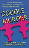 Front cover for the book Double Murder by Barbara Taylor McCafferty