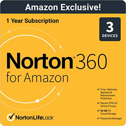 Exclusive Deal - Protect your devices - Norton 360 for Amazon Up to 3 Devices