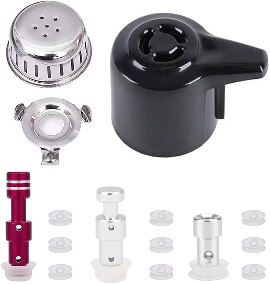 Steam Release Handle,Float Valve Replacement Parts with Anti-Block Shield For Instant Pot Duo/Duo Plus 3, 5, 6 and 8 Quart,Instant Pot Smart Wifi(6 Qt) (DUO)