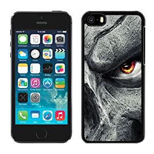 Beautiful Custom Designed Cover Case For iPhone 5C With Eyes of Hate Phone Case WANGJING JINDA