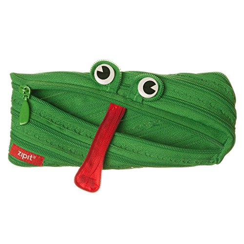 ZIPIT Animals Pencil Case, Frog