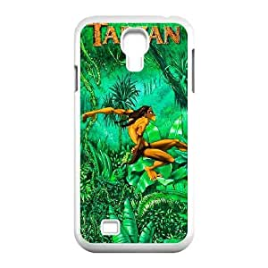 Generic for Samsung Galaxy S4 9500 Cell Phone Case White Tarzan Custom HLFDKFFKD3363