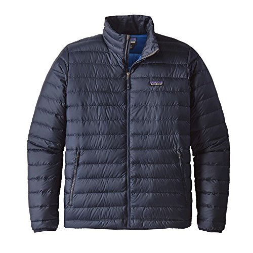 Patagonia Mens Water - Patagonia Men's Down Sweater Jacket (XX-Large, Navy Blue w/ Navy Blue)