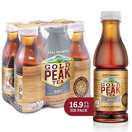 Gold Peak Tea, Diet, 16.9 Fluid Ounce (Pack of 6) (Arizona Diet Iced Tea)