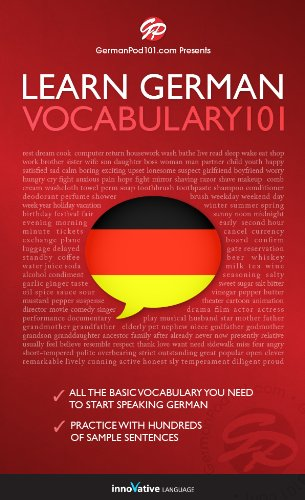 Learn German - Word Power 101 (English Edition)