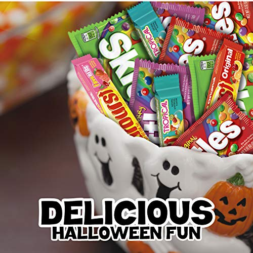 Large Product Image of SKITTLES & STARBURST Halloween Candy Full Size Variety Mix 18-Count Box