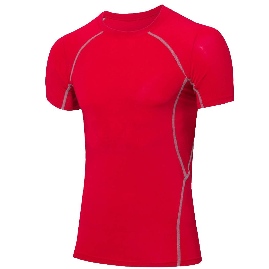 ChenHang Mens Athletic Compression Under Base Layer Sport Shirt