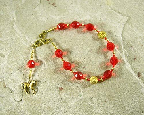 Aine Pocket Prayer Beads: Irish Celtic Goddess of Midsummer, Sovereignty, Prosperity, Abundance