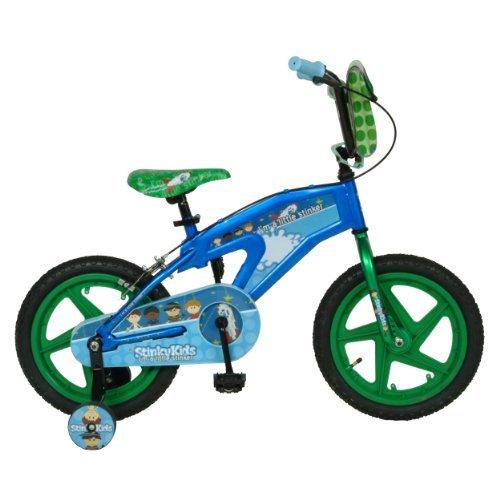 StinkyKids Trouble-Maker Kid's Bike, 16 inch Wheels, 11 inch Frame, Boy's Bike, Blue [並行輸入品] B01K1Y41KY