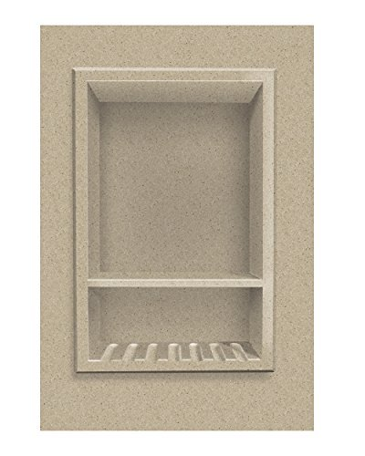 Matrix Sand - Transolid ACCESS0003-B2 Decor 10 x 15-Inch Recessed Shampoo Caddy, Matrix Sand by Transolid