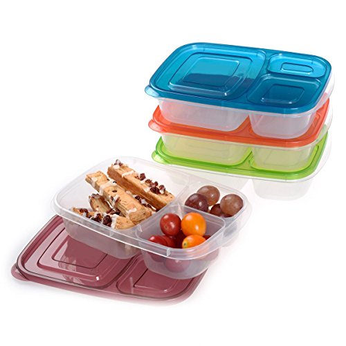 kitchen-storage-organizationfood-storage-containers-4-x-quick-lunch-boxes-3-compartment-bento-lunch-