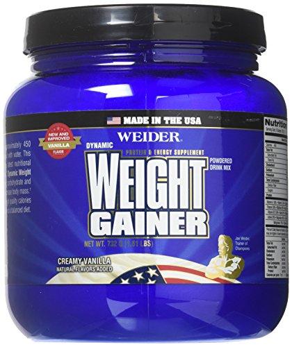 (Weider Global Nutrition Weight Gainer Vanilla Dynamic - Powder, 1.65 Pound)