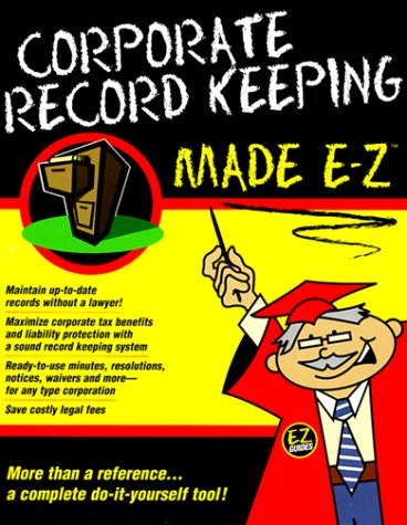 amazon com corporate record keeping made e z made e z guides