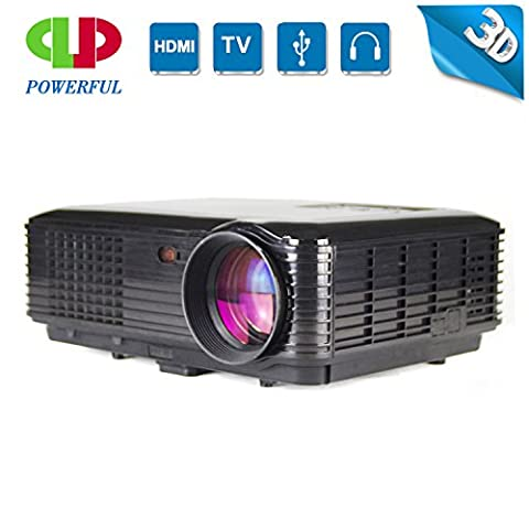 LightInTheBox Smart LED projector Full HD 800x600 3500LM,1080p Projectorr with HDMI USB VGA, Home Video Movie - Sv Dvd