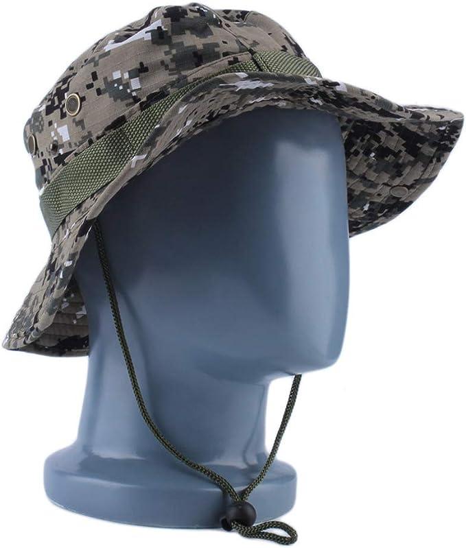JJJRMP Unisex Bucket Hat Mujeres Hombres Gorra Boonie Hat Pesca ...