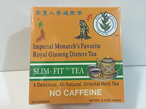 Bamboo Leaf Brand + Eight Leaf Brand, Choice of: Regular Strength Dieters' II, Extra Strength Dieters' II, Imperial Monarch's Favorite Royal Ginseng Dieters Tea (Royal Ginseng (30) Tea -