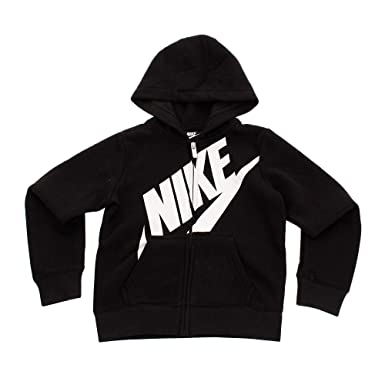 Amazon.com  Nike Kids Womens Futura Full Zip Hoodie (Toddler)  Clothing 727f2a9700