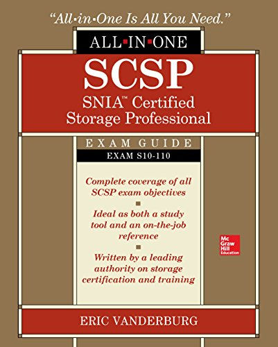 SCSP SNIA Certified Storage Professional All-in-One Exam Guide (Exam S10-110) Front Cover