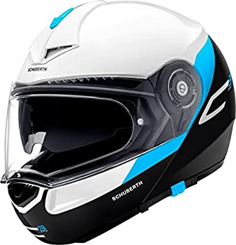 Schuberth C3 Pro Gravity Azul Motocicleta Casco