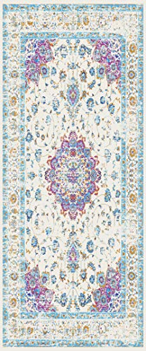 (Rugshop Persian Traditional Area Rug 5' x 7' Pink)