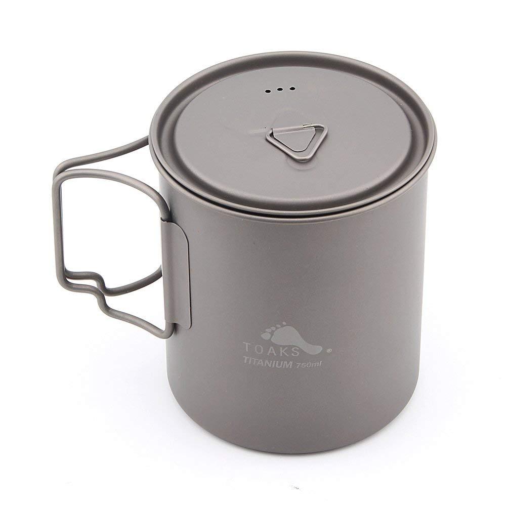 TOAKS Titanium 750ml Pot by TOAKS